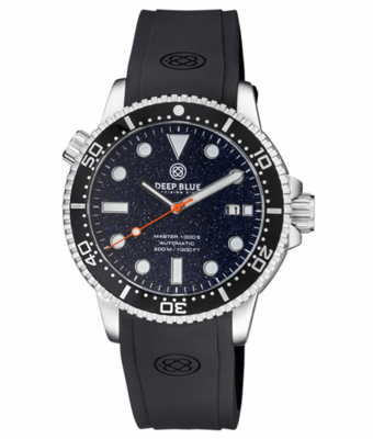 MASTER 1000 II 44MM AUTOMATIC DIVER BLACK CERAMIC BEZEL - BLACK/BLUE GRADIENT DIAL