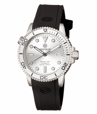 MASTER 1000 AUTOMATIC DIVER SILVER BEZEL - SILVER DIAL