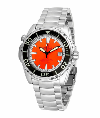 SEA QUEST 42MM 1500M AUTOMATIC DIVER ORANGE