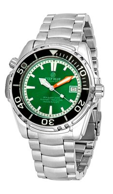 SEA QUEST 42MM 1500M AUTOMATIC DIVER GREEN