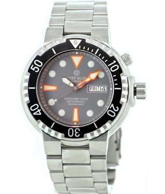 Sun Diver 1K Grey Matte Dial