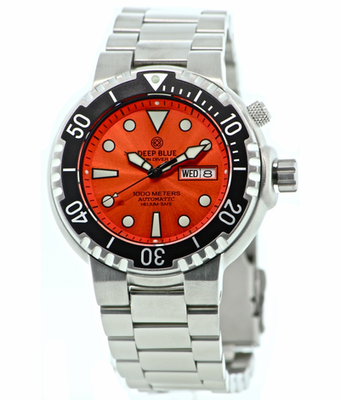 Sun Diver 2 1k Orange Sunray Dial