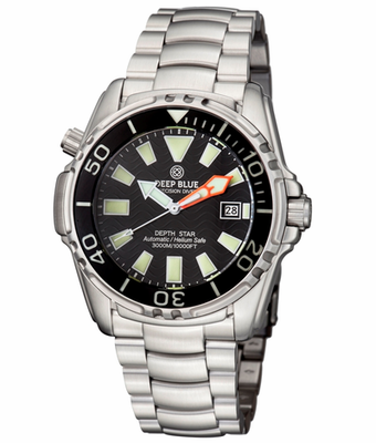 DEPTH STAR 3000 45mm BLACK AUTOMATIC