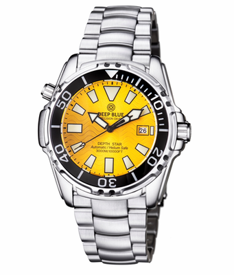 DEPTH STAR 3000 YELLOW AUTOMATIC
