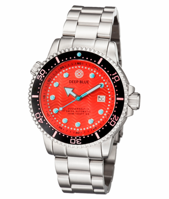 JUGGERNAUT IV SWISS AUTOMATIC DIVER RED