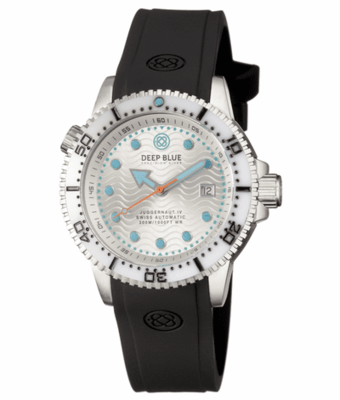 JUGGERNAUT IV SWISS AUTOMATIC – DIVER WHITE/SILVER