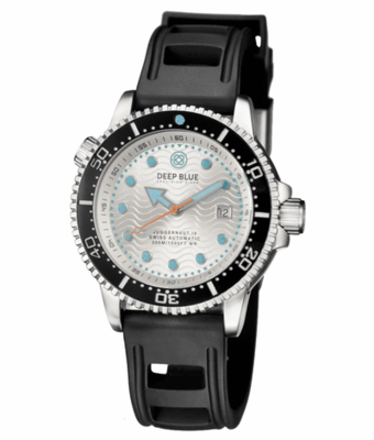 JUGGERNAUT IV SWISS AUTOMATIC – DIVER BLACK/WHITE