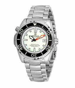 SEA QUEST 42 MM 1500M AUTOMATIC DIVER WHITE