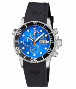 DIVER 1000 QUARTZ CHRONOGRAPH DIVER BLACK BEZEL –LIGHT BLUE DIAL
