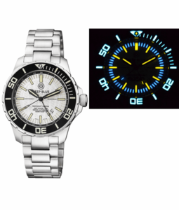 DAYNIGHT RECON GMT 2893 SWISS AUTOMATIC TRITIUM T-100 WHITE