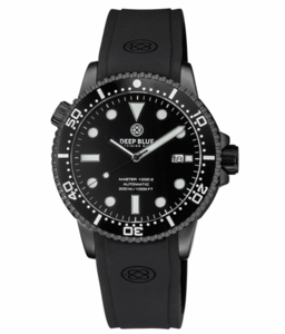 MASTER 1000 II 44MM AUTOMATIC DIVER BLACK CERAMIC BEZEL -BLACK DIAL-PVD BLACK CASE