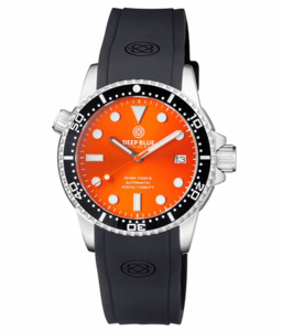 DIVER 1000 II 40MM AUTOMATIC DIVER BLACK CERAMIC BEZEL – ORANGE SUNRAY DIAL