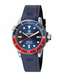 MASTER 1000 AUTOMATIC DIVER BLUE/RED BEZEL -BLUE DIAL