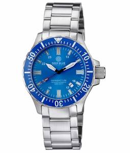 DAYNIGHT TRITDIVER T-100 AUTOMATIC BLUE BEZEL – LIGHT BLUE DIAL