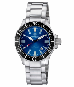 DAYNIGHT TRITDIVER T-100 AUTOMATIC BLACK BEZEL- DARK BLUE DIAL