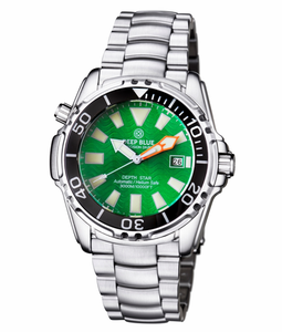 DEPTH STAR 3000 GREEN 45mm AUTOMATIC