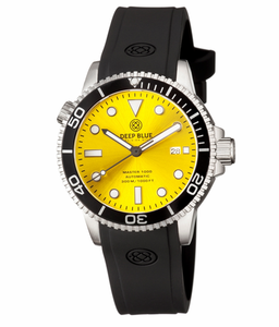 MASTER 1000 AUTOMATIC DIVER BLACK BEZEL -YELLOW SUNRAY DIAL