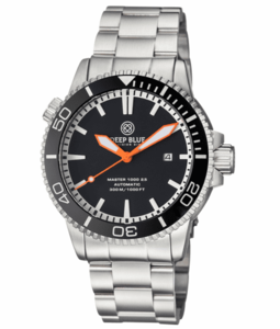 MASTER 1000 2.5 - 60 HOUR POWER RESERVE AUTOMATIC – CERAMIC BEZEL DIVER BLACK/ORANGE